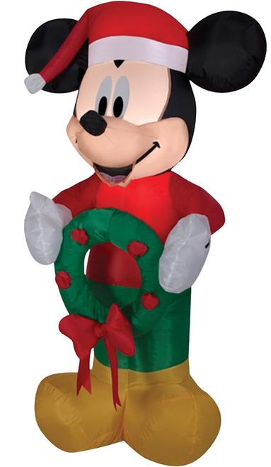 Airblown Mickey W Wreath Small