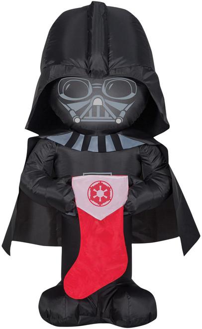 Airblown Darth Vader Xmas Stocking
