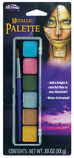 6 Metallic Wa Colors Snap Tray
