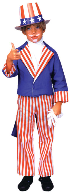 Uncle Sam Child Costume Medium