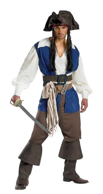 Jack Sparrow Adult Dlx 42-46