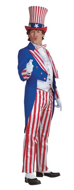 Uncle Sam Costume Medium Dlx