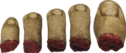 Severed Toes 5 Pc Set