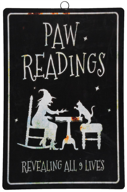 Paw Readings Revealing All 9 Lives' Sign