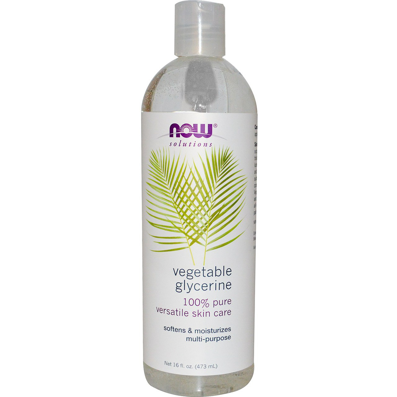 NOW Foods 100% Pure Vegetable Glycerin - For Healthy Hair & Skin