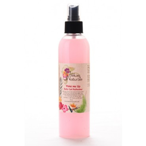 Alikay Naturals Wake Me Up Curl Refresher 8oz. Are you looking for where to buy Alikay Naturals Wake Me Up Curl Refresher? Shop here for the Alikay Naturals Wake Me Up Curl Refresher 8oz or at African Naturals St. Louis, MO 63109 at everyday low prices. Spray Shake and Go! Wake your Curls Up with a Boost of Moisture. Alikay Naturals Wake Me Up Curl Refresher is lovely mango scented combination will define and refresh your curls with in one simple step. Helps revive your flattened, bed head hair and dried out curls to help them look fabulous again. Alikay Naturals Wake Me Up Curl Refresher is a special blend of natural ingredients, it reduces frizz, enhances natural shine and locks in moisture all day. It works by clumping your curls together to help them pop. Why not make your second day hair style better than the first. Where you can buy, find, product, information, ratings, reviews, benefits of Alikay Naturals Wake Me Up Curl Refresher 8oz. We offer the best price for Alikay Naturals Wake Me Up Curl Refresher.