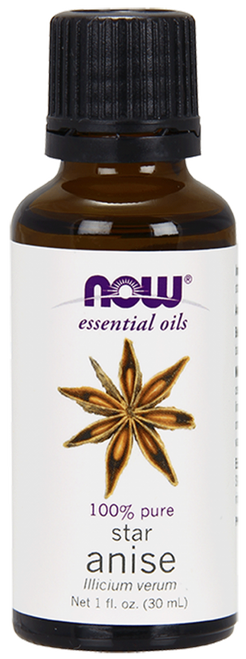NOW 100% Pure Anise Oil - 1 oz Anise Essential Oil