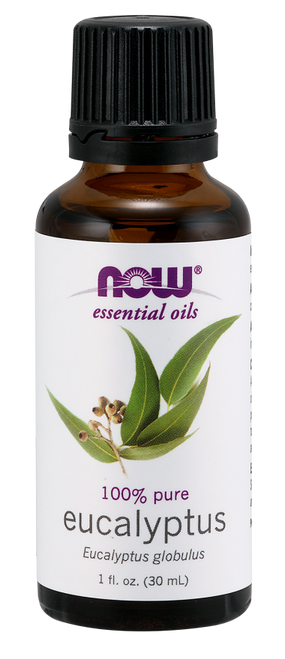 NOW 100% Pure Eucalyptus (Eucalyptus Globulus) Essential Oil - BENEFITS: Revitalizing, Invigorating & Clarifying.