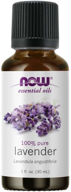 NOW 100% Pure Lavender Essential Oil - 1oz. NOW 100% Pure Lavender (Lavandula officinalis) Essential Oil- BENEFITS: Soothing, Normalizing & Balancing.
