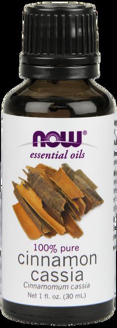 NOW 100% Pure Cinnamon Cassia (Cinnamomum Cassia) Essential Oil - Benefits: Warming, Stimulating, Refreshing.