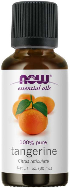 NOW Foods Tangerine (Citrus reticulata) Essential Oil 100% Pure - 1 oz.