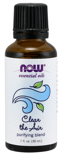 Now Foods Clear the Air PURIFYING  Essential Oil Blend - 1 fl. oz.