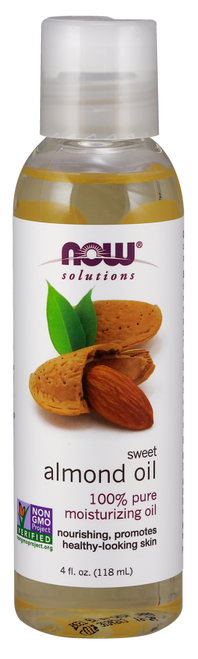NOW 100% Pure Sweet Almond Oil where can I buy pure sweet almond oil for hair in store.