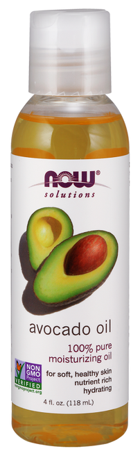 NOW Foods 100% Pure Avocado Oil (Persea Americana)  - For Healthy Hair & Skin.