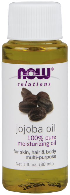 NOW 100% Pure Jojoba Oil (Simmondsia Chinensis) Benefits: For Skin, Hair & Body Multi-Purpose.