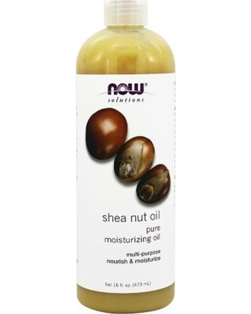 NOW Foods Pure Shea (Butyrospermum Parkii) Nut Oil Benefits: Nourishing, Moisturizing Oil For Hair And Skin