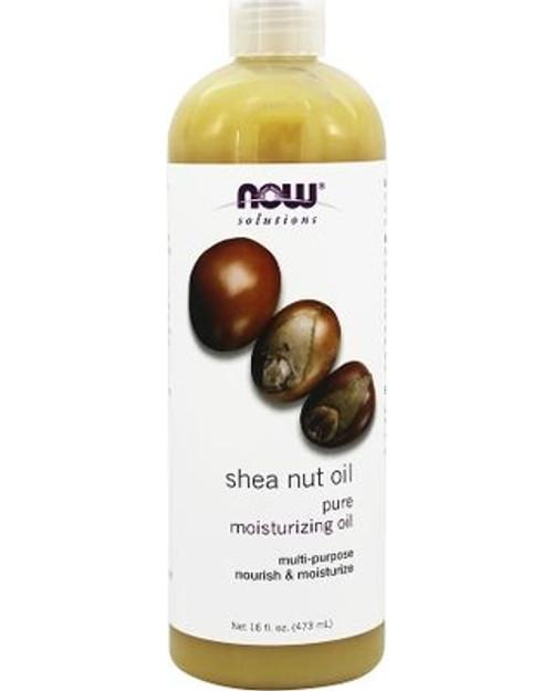 NOW Foods Pure Shea (Butyrospermum Parkii) Nut Oil Benefits: Nourishing, Moisturizing Oil For Hair And Skin