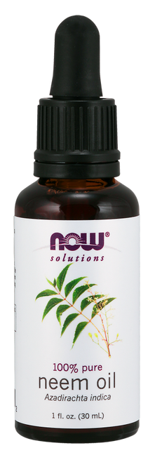NOW 100% Pure Neem Oil - 1 oz. (7733) Where To Buy NOW 100% Pure Neem Oil - Relieves Irritation and Soothes skin - ishopnaturals.com