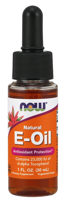 Now Foods Vitamin E-Oil (Tocopherol) 23,000 IU - 1 oz.