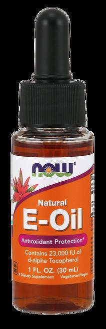 Now Foods Vitamin E-Oil (Tocopherol) 23,000 IU - 1 oz.