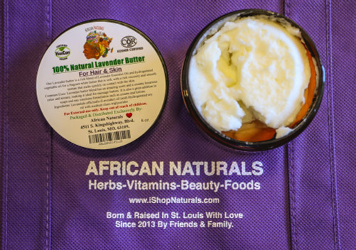 Natural Blend Lavender Butter For Hair and Skin.
