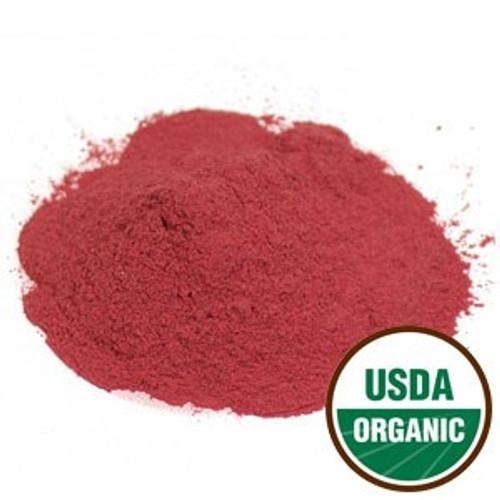 Organic Beet Root Powder4 oz By Starwest Botanicals