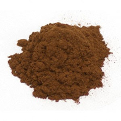 Yohimbe Bark Powder Wildcrafted4 oz from Cameroon by Starwest Botanicals.