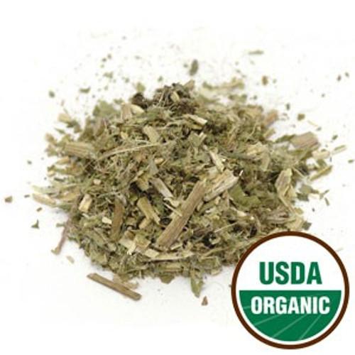 100% Organic Blessed Thistle Herb (Botanical Name: Cnicus benedictus) 4oz.