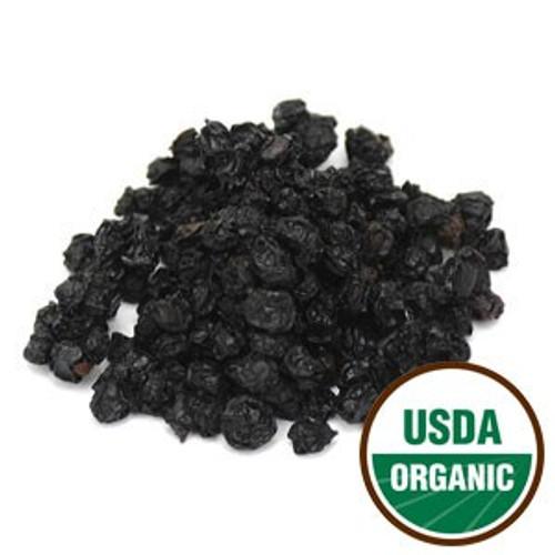 100% Organic Elderberries (Sambucus nigra L.) Whole