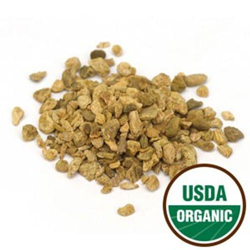100% Organic Rhubarb Root (Rheum palmatum) C/S 4oz