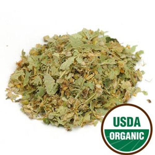 100% Tila, Organic Linden Leaf & Flower (Tilia europaea) C/S 4 oz