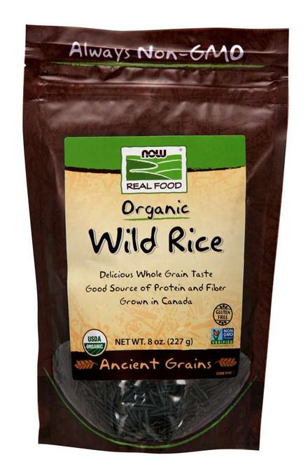 100% Wild Rice, Organic, NON-GMO 8oz