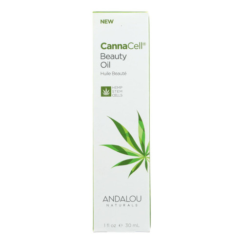 Andalou Naturals - Cannacell Beauty Oil - 1 Fl Oz.