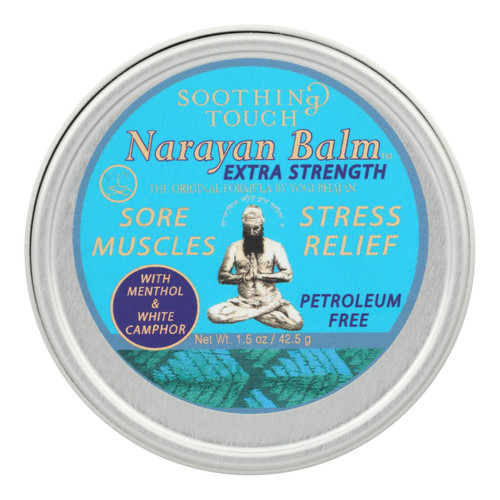 Soothing Touch Narayan Balm - Extra Strength - Case Of 6 - 1.5 Oz
