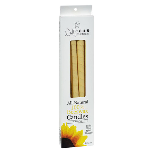 Wally's Ear Candles Beeswax - 4 Candles