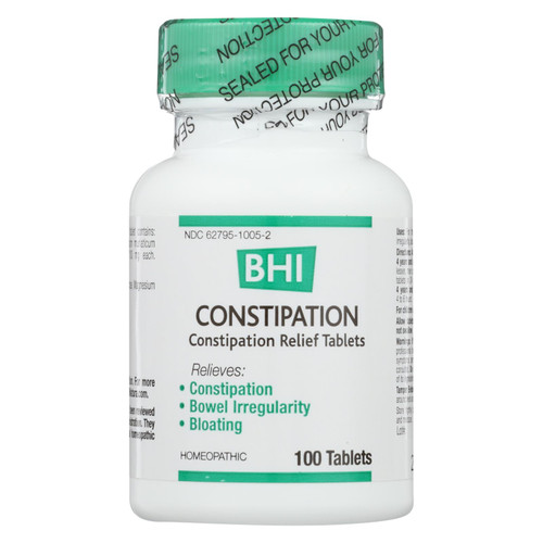 Bhi - Constipation Relief - 100 Tablets