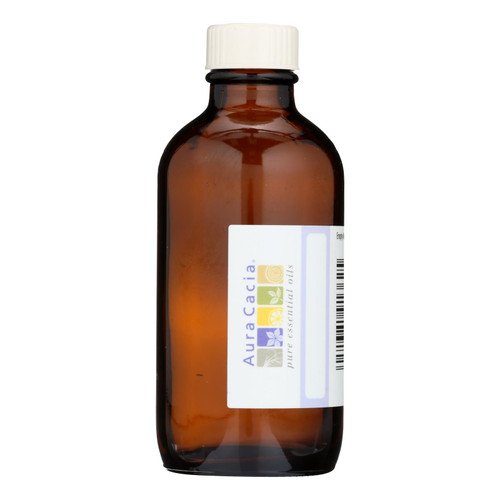 Aura Cacia - Bottle - Glass - Amber With Writable Label - 4 Oz