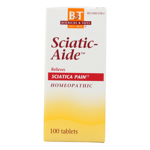 Boericke And Tafel - Sciatic-aide - 100 Tablets