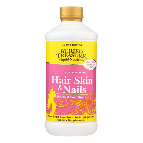 Buried Treasure - Hair Skin And Nails Complete - 16 Fl Oz