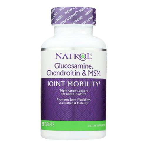 Natrol Glucosamine Chondroitin And Msm - 90 Tablets