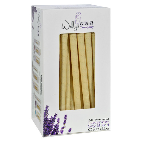 Wally's Natural Products Candles -soy Blend Lavender - Case Of 75