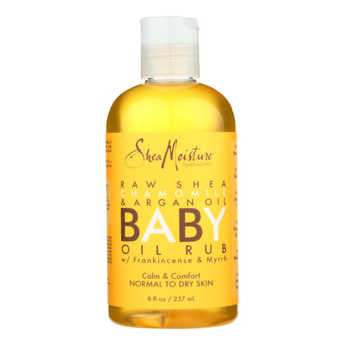 Sheamoisture Oil Rub - Baby - Raw Shea Butter - 8 Oz