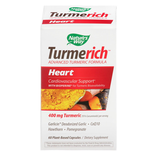 Nature's Way - Tumerich Heart - 1 Each - 60 Vcap