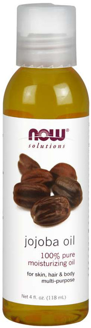 NOW® Solutions 100% Pure Jojoba Oil - 4 fl. oz.