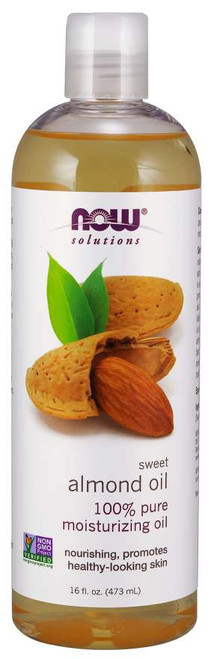 NOW® Solutions 100% Pure Sweet Almond Oil - 16 fl. oz.