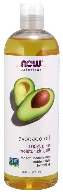 NOW® Solutions 100% Pure Avocado Oil - 16 fl. oz.