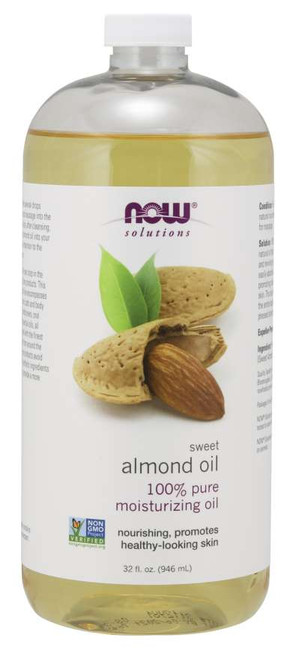 NOW® Solutions 100% Pure Sweet Almond Oil - 32 fl. oz.