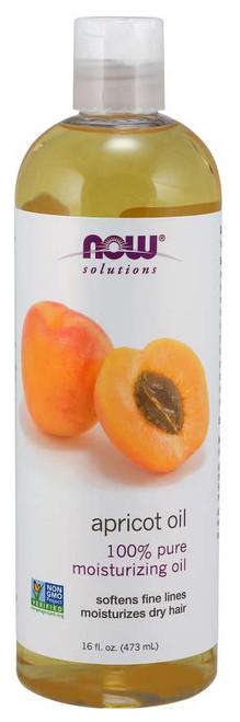 NOW® Solutions 100% Pure Apricot Kernel Oil - 16 fl. oz.