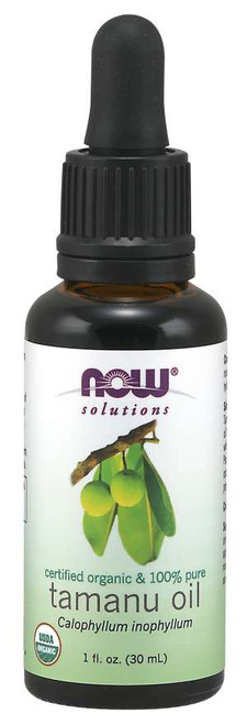NOW® Solutions 100% Pure Tamanu Oil, Organic 1 fl. oz.