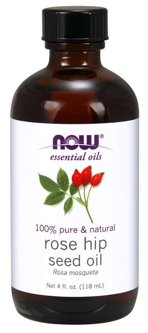 NOW® Solutions 100% Pure Rose Hip Seed Oil - 4 oz.